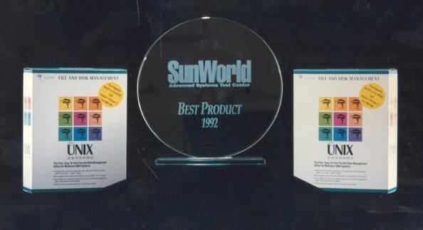 SunWorld award for xtree for UNIX Systems